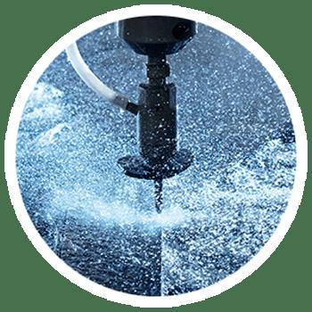 Watersnijden onder hoge druk